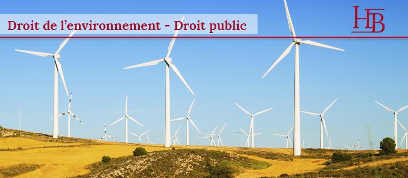 Cabinet Bras Avocats - Droit public - Éoliennes et permis