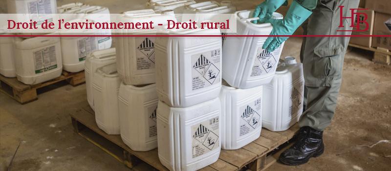 environnement et pesticides - bras Avocats - Montpellier