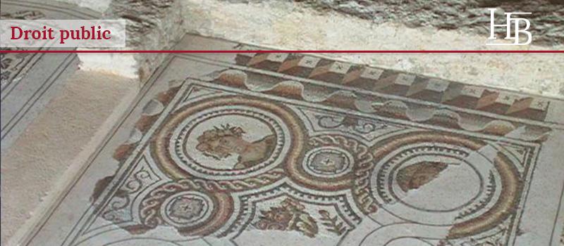bras-avocat-droit-public-fouilles-archéologiques