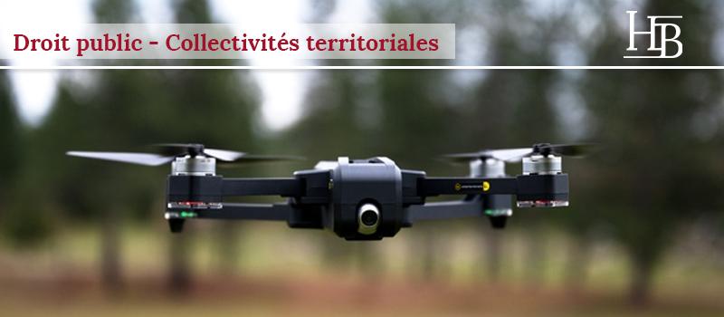 Police municipale : pas de surveillance par drone - droit public